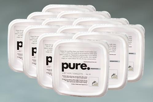 pure. A Bit Wipe (12 pack)