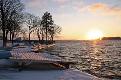 Lake Geneva Sunset