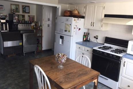 Kitchen and full beverage station