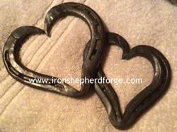 watermarked horseshoe hearts