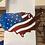 Thumbnail: USA Waving Flag Map - USA map - USA flag - Waving Flag