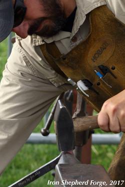 Forging a bottle opener