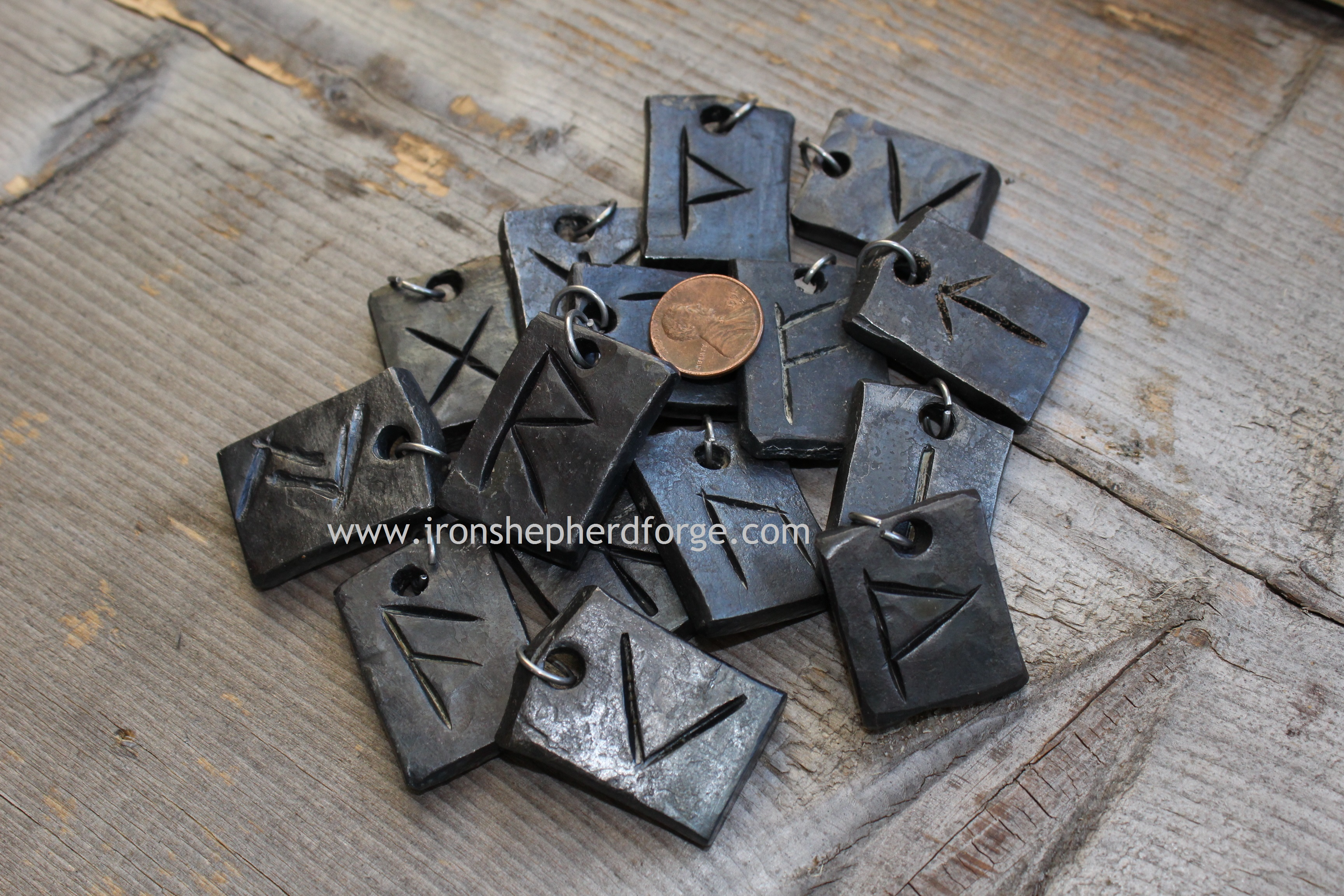 pile of runes with coinWM