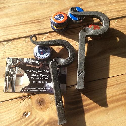 "Square profile ""Hook Style"" bottle opener"