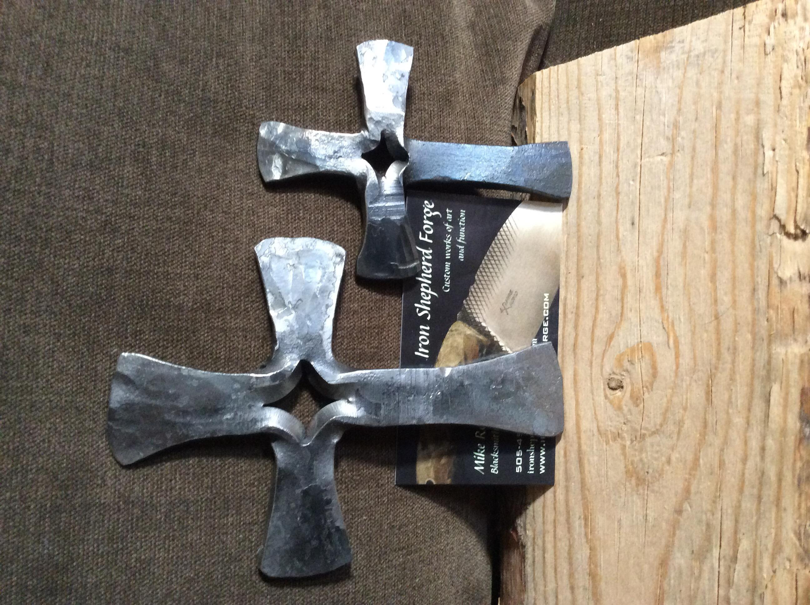 Forged split crosses