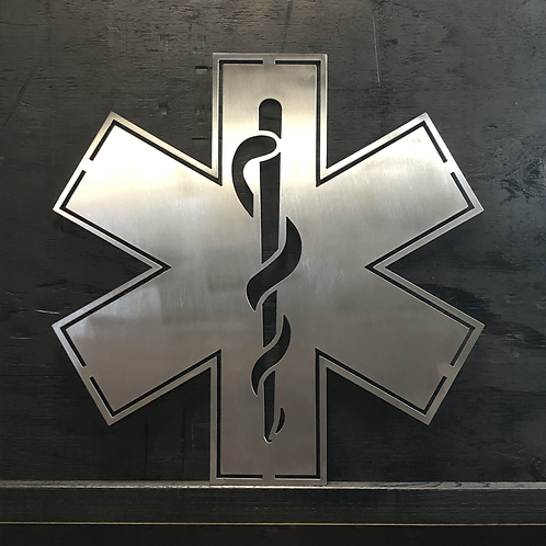 Star of Life - Paramedic - Medic - EMT - Emergency Medical Services - EMS