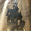 Thumbnail: Haunted House metal sign 31""