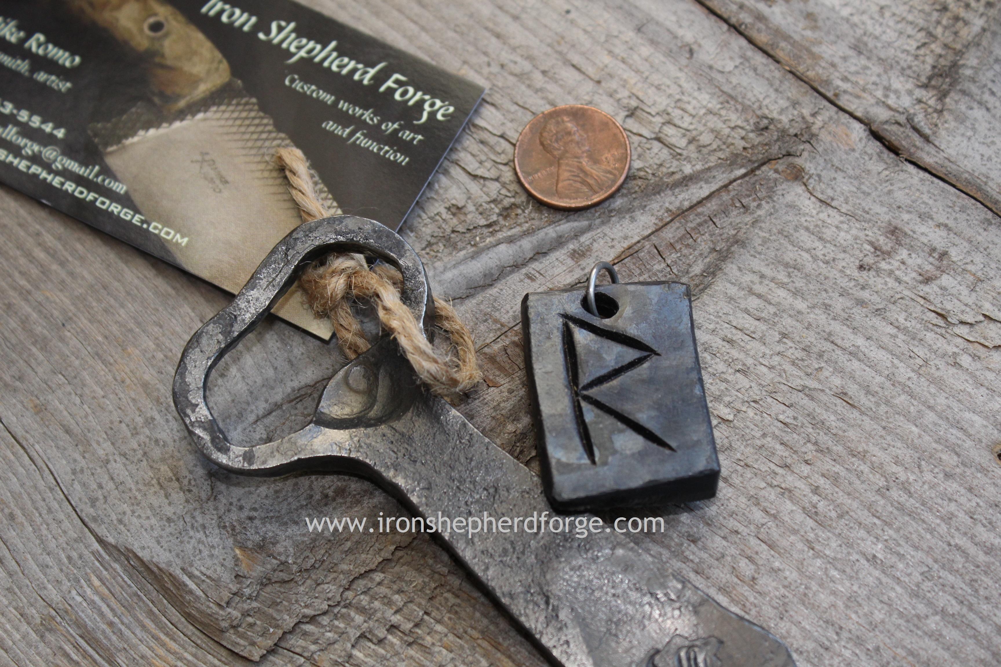 tapered church key rune WM