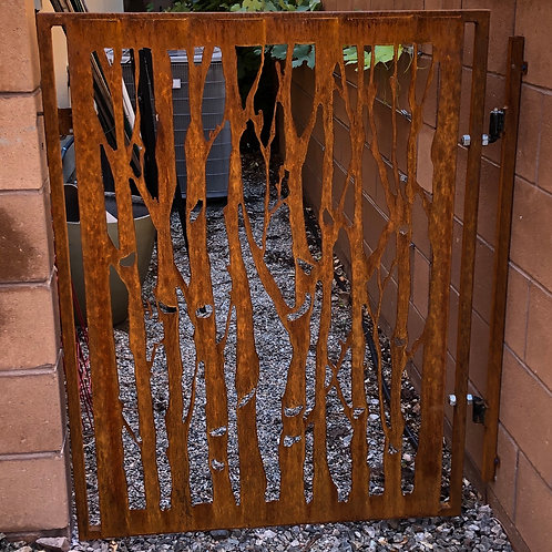 Custom garden and yard gates-email for details