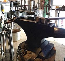 Iron Shepherd Forge anvil