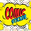 Thumbnail: ข้อความสติกเกอร์การ์ตูนคอมมิค สติกเกอร์