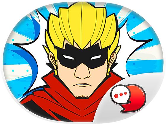 Heroes Pop Art สติกเกอร์ฟรี
