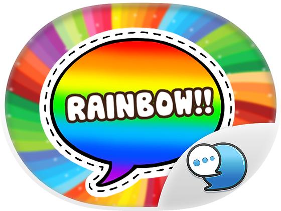 Everything is Rainbow สติกเกอร์