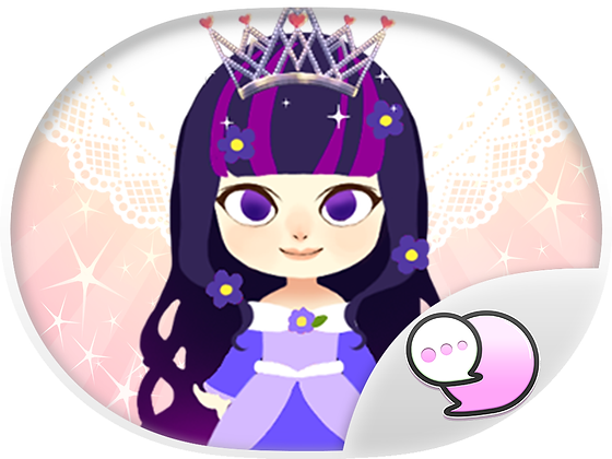 Little princess สติกเกอร์ฟรี