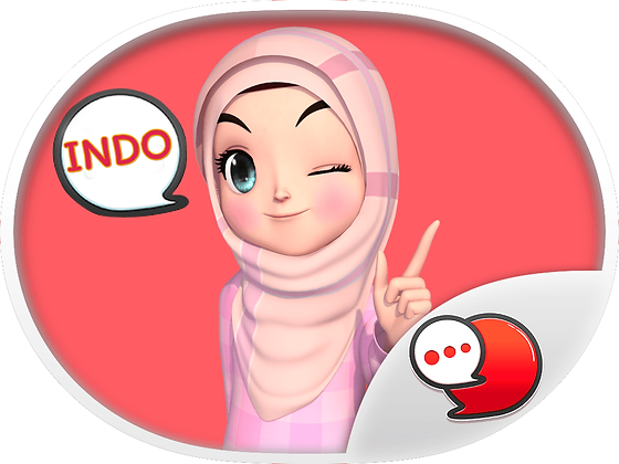 Amarena 3D Hijabgirl Indo สติกเกอร์ฟรี