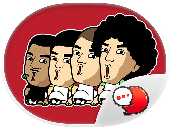 Football Live Chat สติกเกอร์ฟรี