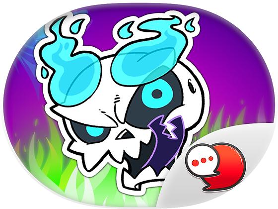 Skullboy สติกเกอร์