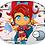 Thumbnail: Super Hero Woman Chibi Stickers