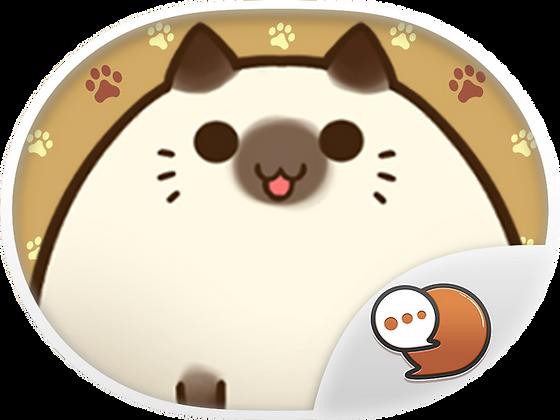 Mochi Cat สติกเกอร์ฟรี