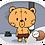 Thumbnail: หมีจน สติกเกอร์