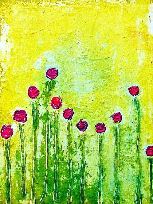 Beauty Pink Flowers (2012)