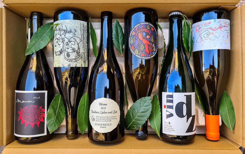 vino naturale vino vero vino vivo mistery box