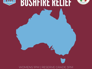 COPPA ITALIA BUSHFIRE RELIEF GAME