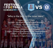 FESTIVAL OF FOOTBALL SUNDAY 3OTH MAY 2021