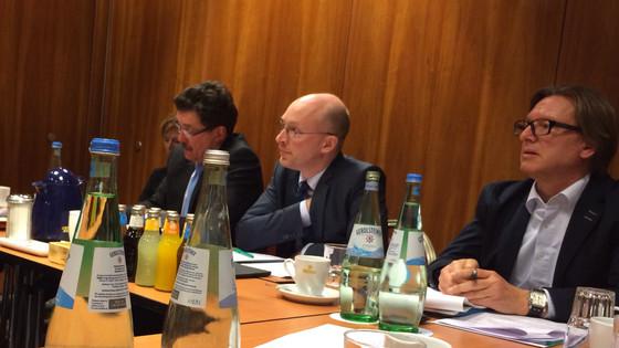 Energieminister im Gespräch mit WindBauern