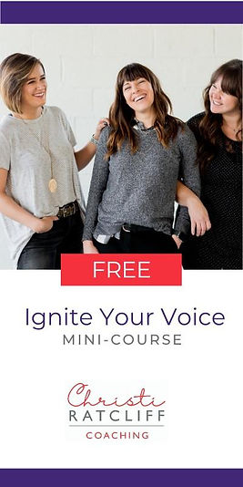 Ignite Your Voice Mini Course