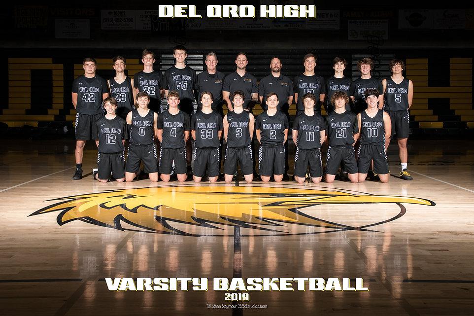 2019-11-12 Del Oro Boys Varsity Basketba