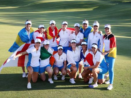 Solheim Cup : victoire des Européennes face aux Etats Unis