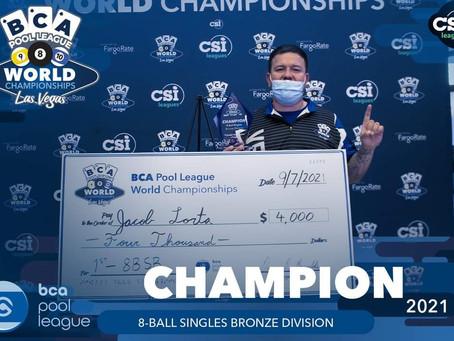 Congrats to Jacob Lorta!!