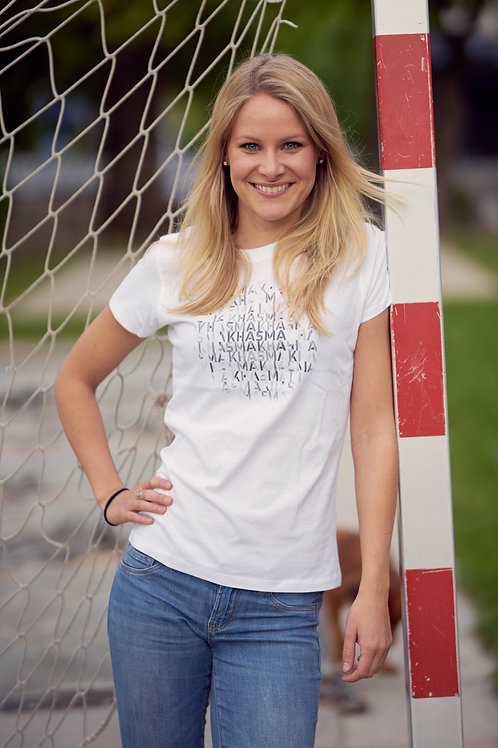 KHASMA Shirt female (white)