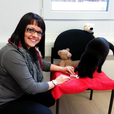 Karin die Katzenflüsterin
