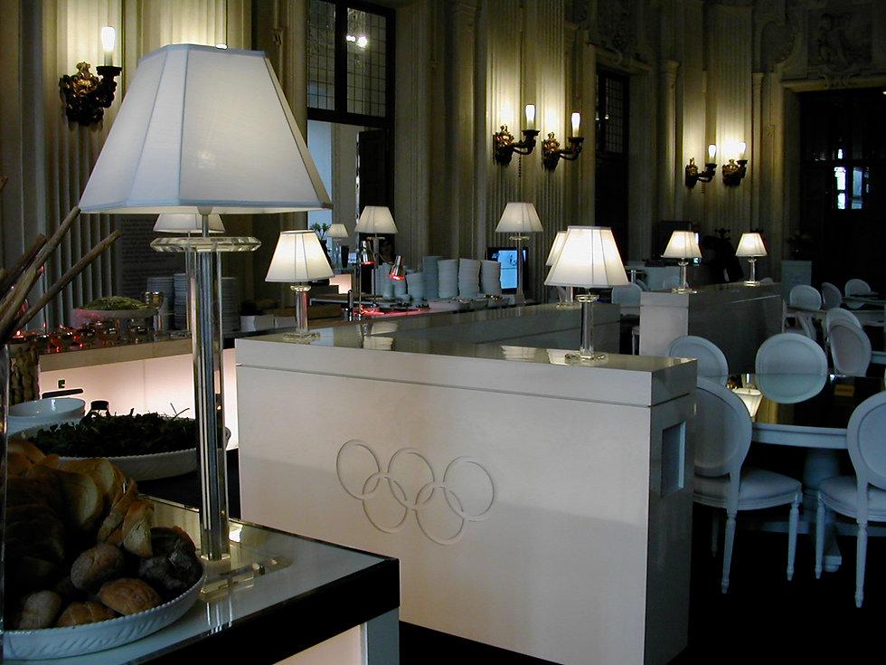 Torino 2006  For GEC, the IOC, John Hancock Bank and NBC Television