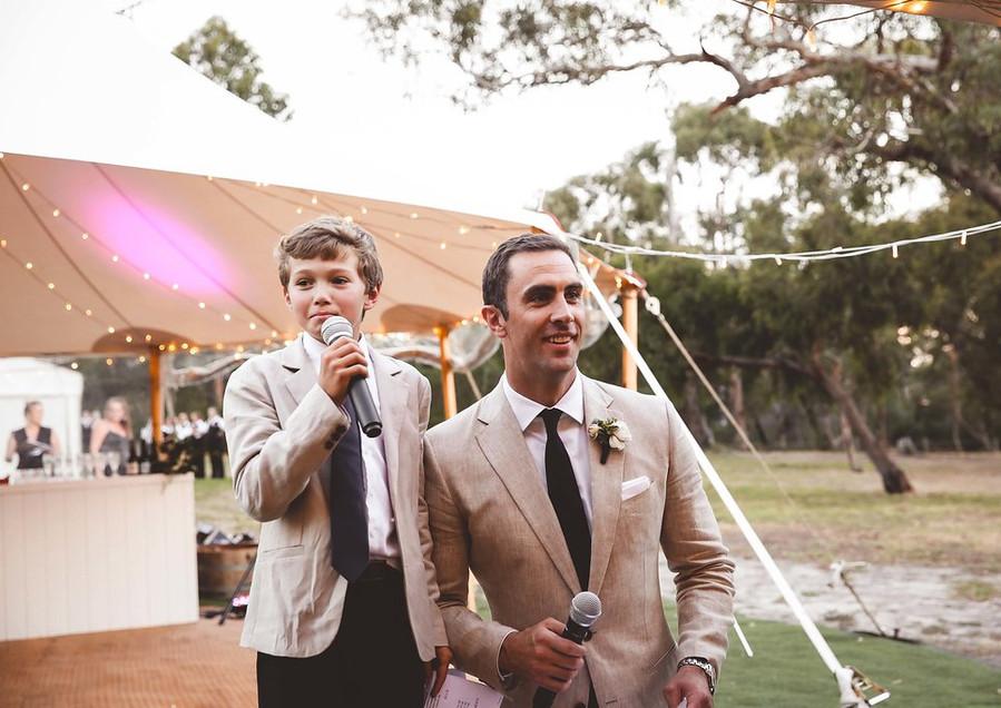 Wedding of Jenna + Fergus