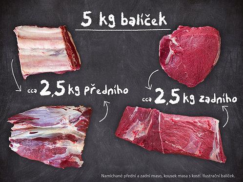 Hovězí maso - balíček 5 kg (jalovice)