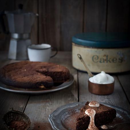 Pistachio, Almond & Dark Chocolate Cake