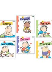 Pack 6 libros mis rutinas BABY SIGNS CHI
