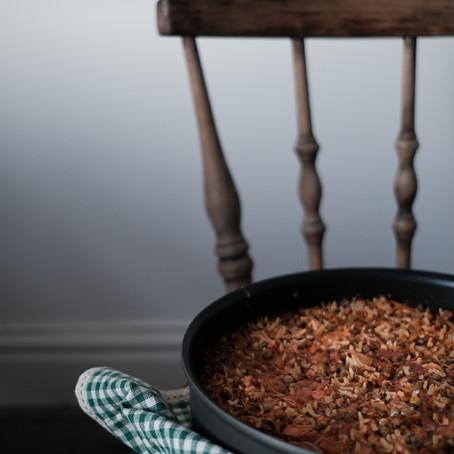 Spicy Tomato & Lentil Rice (Estamboli Polo)