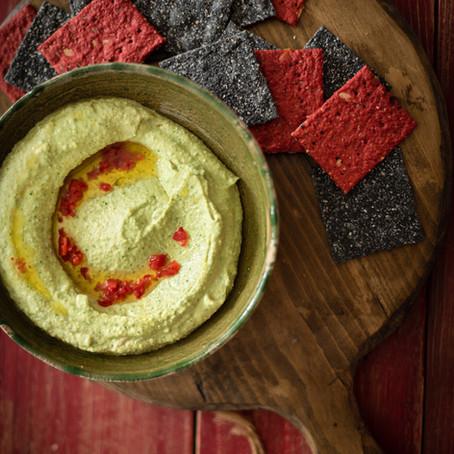 Coriander & Lime Hummus