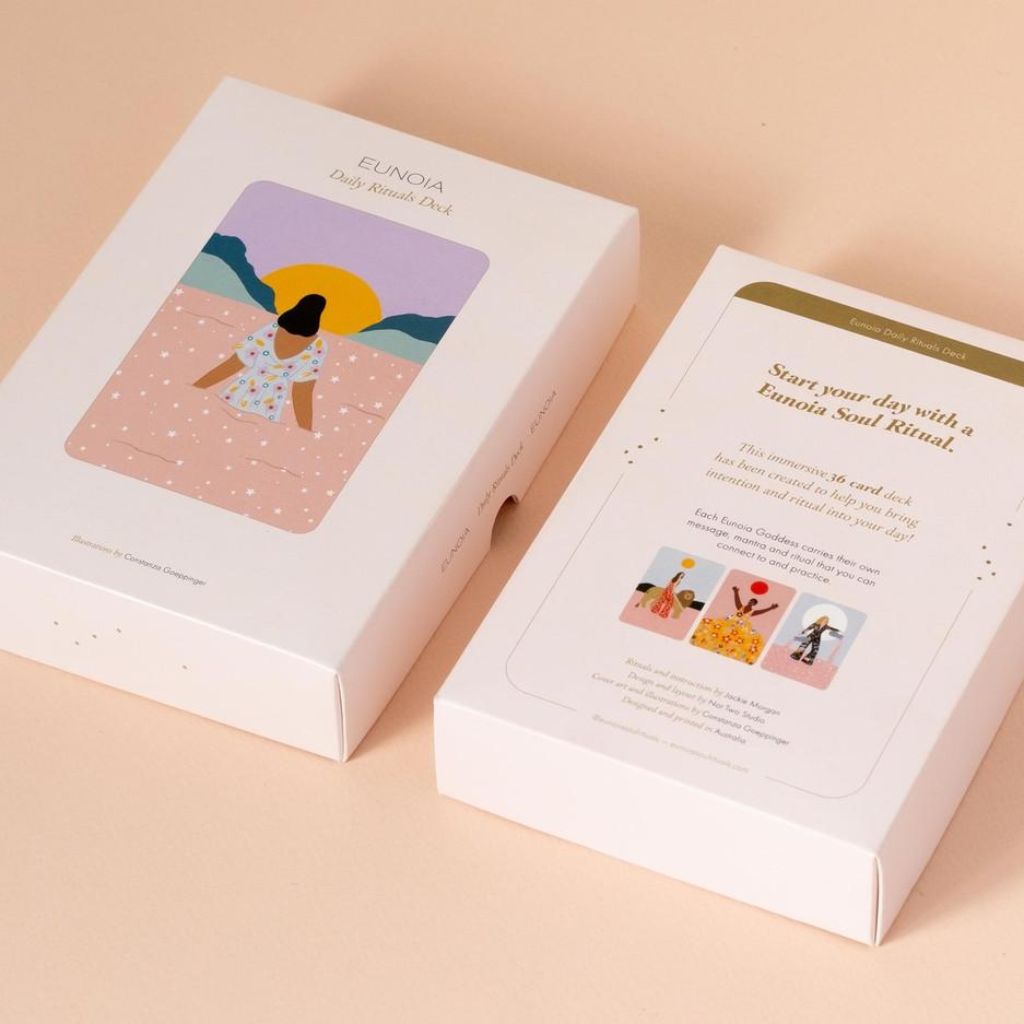 EUNOIA SOUL RITUAL CARD DECK