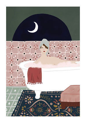 Woman in Bathtub