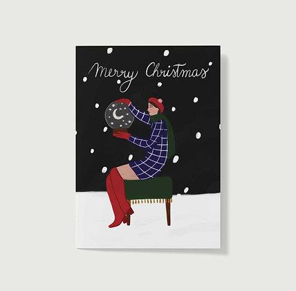 Snowy Christmas - Greeting Card