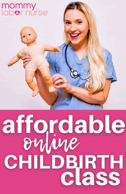 Mommy Labor Nurse Childbirth Education S
