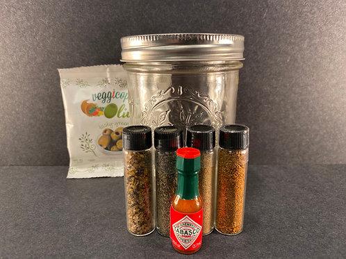CLASSIC Bloody Mary - Full Kit with Mason Jar