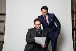 Seth Rogan and James Franco