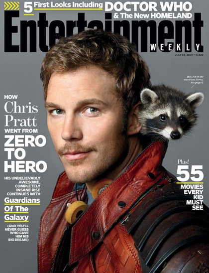 Chris Pratt: Entertainment Weekly