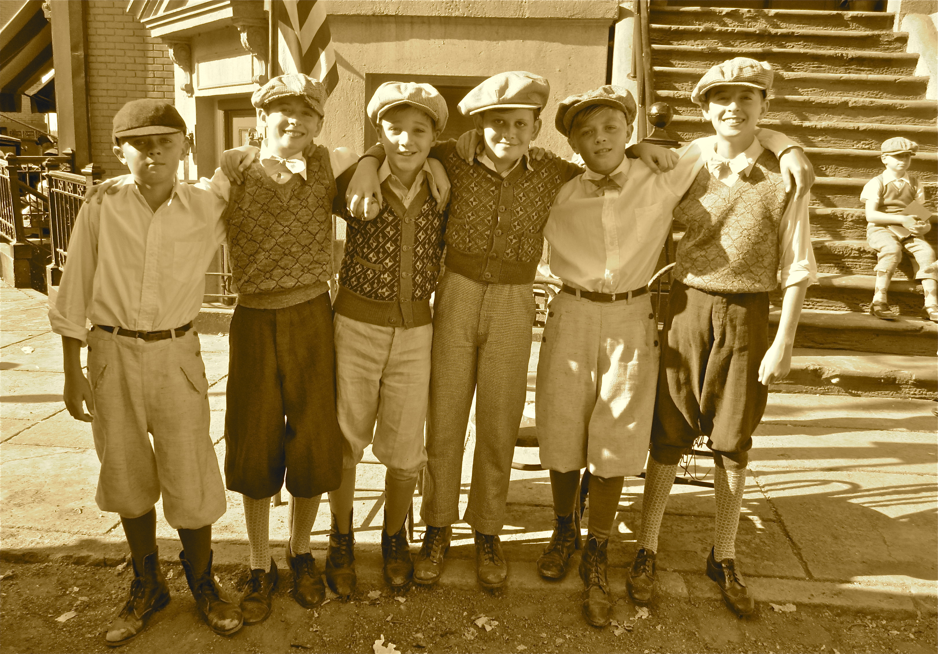 The Kids of Water for Elephants